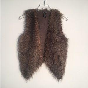 Ella Moss | Faux Fur Vest